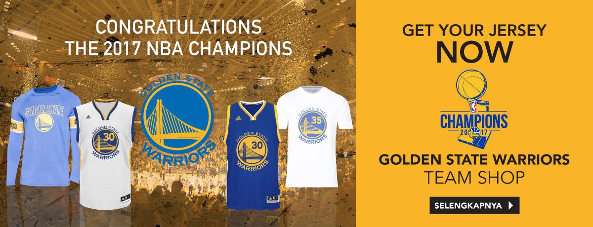 NBA CHAMPION Golden State Warrios