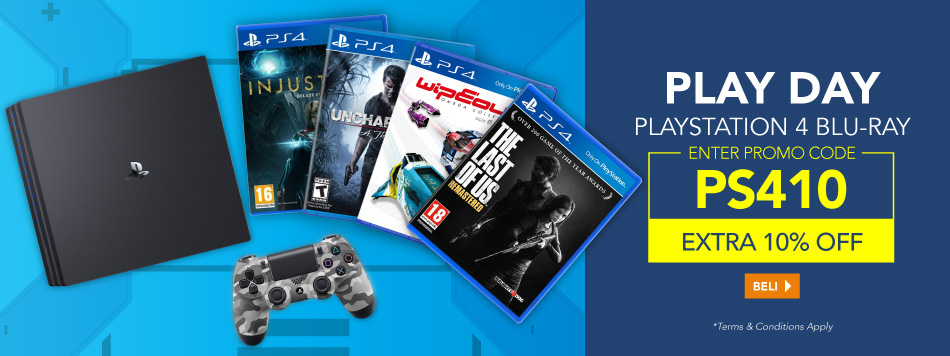 PS4 Blu-Ray 10% Off