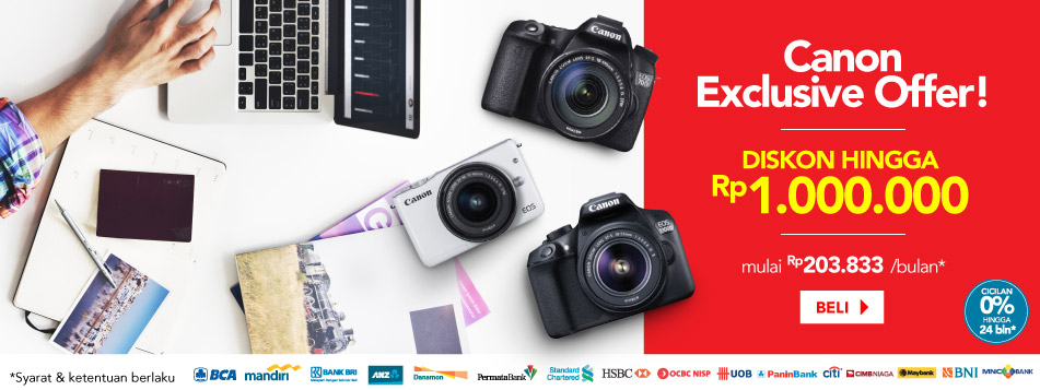 Canon Exclusive Offer