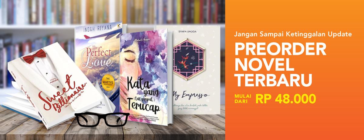 Pre Order Novel Terbaru