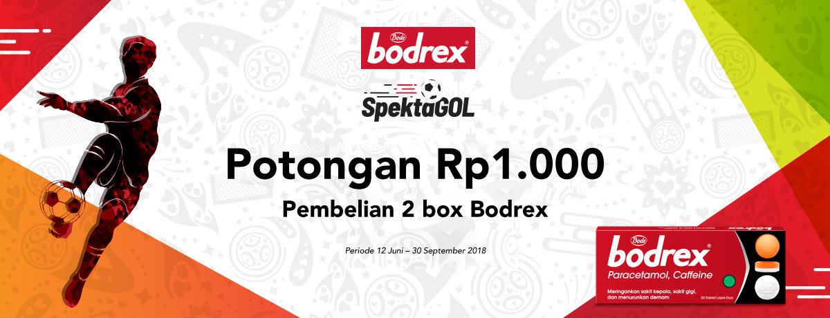 Bodrex Potongan Rp1.000