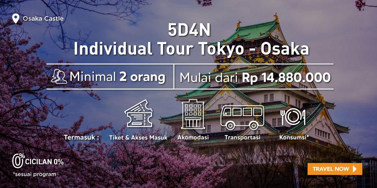 5D4N Tokyo - Osaka