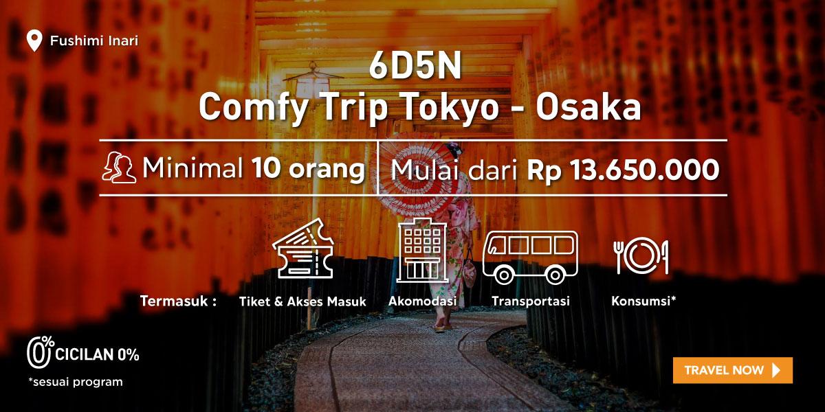 6D5N Tokyo - Osaka