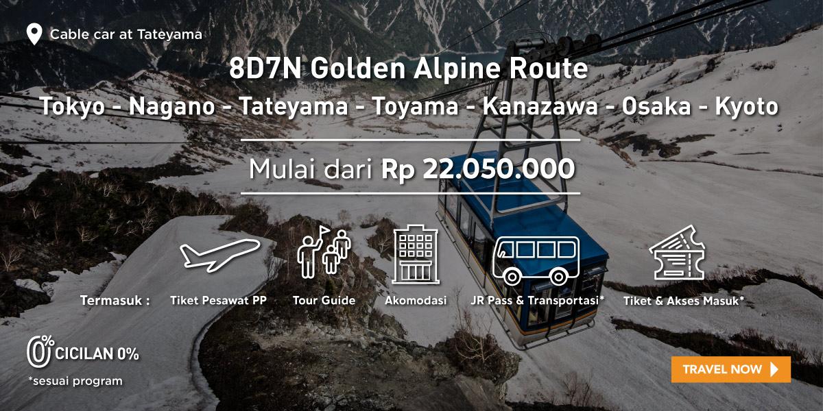 8D7N Golden Alpine Route