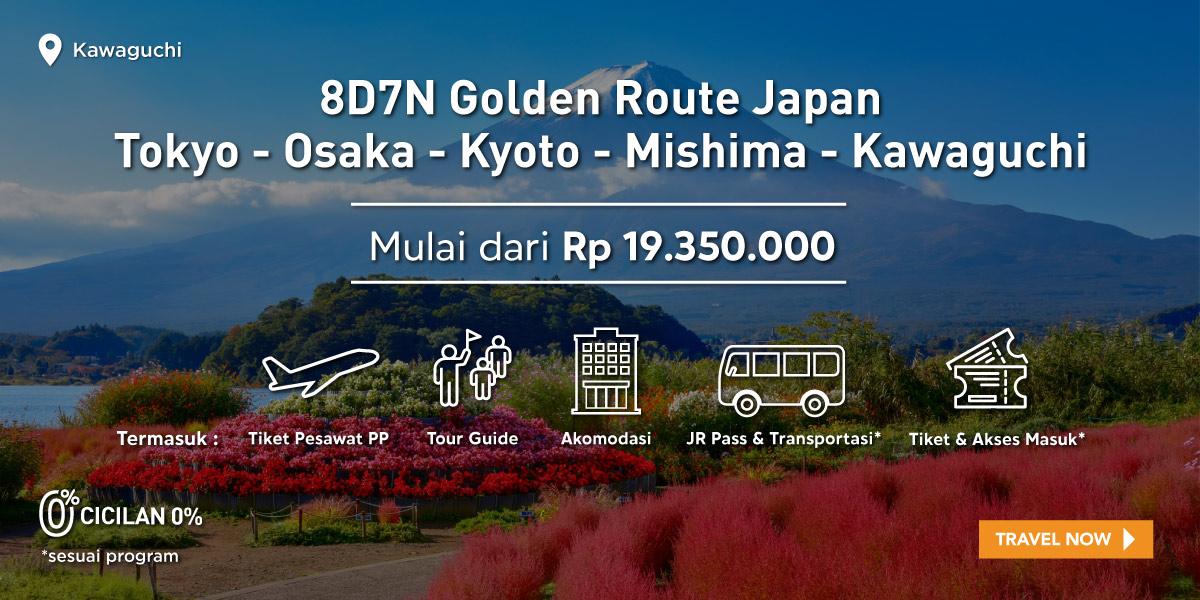 8D7N Golden Route Japan