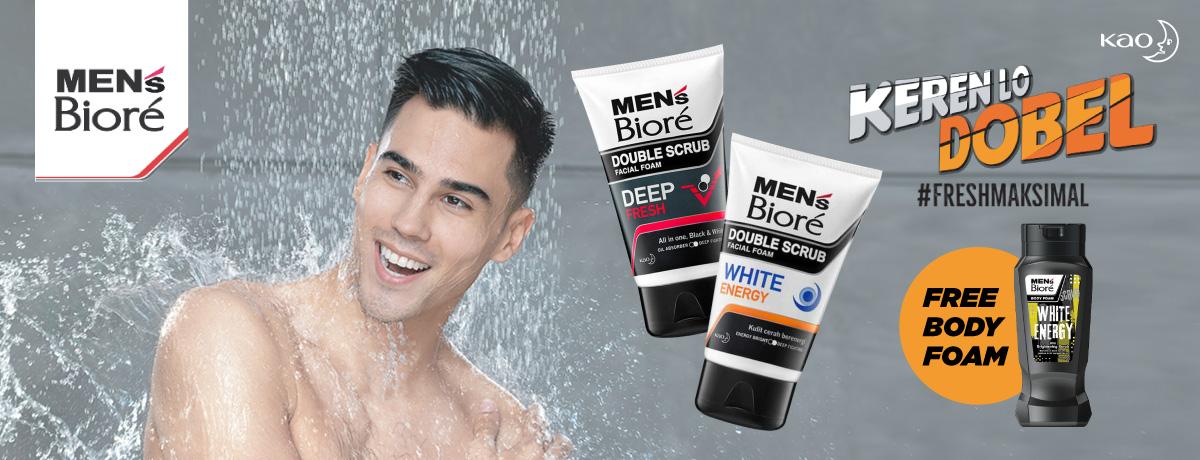Men's Biore Free Body Foam