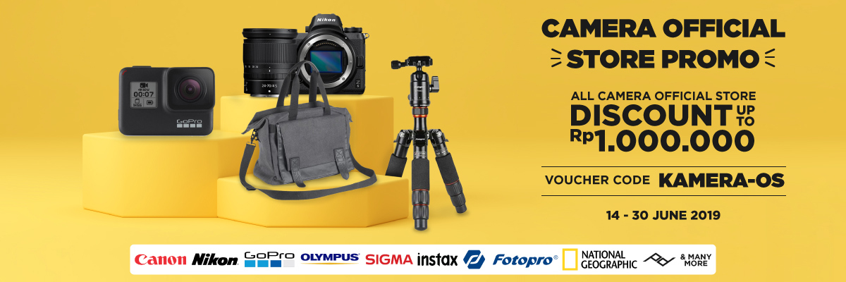 Camera Official Store Promo