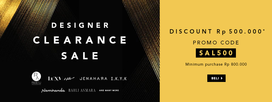 Designer Clearance Sale