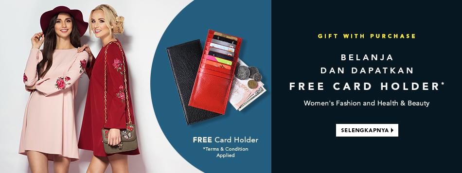Free Card Holder