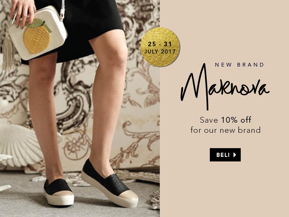 Marnova Launching 10% off