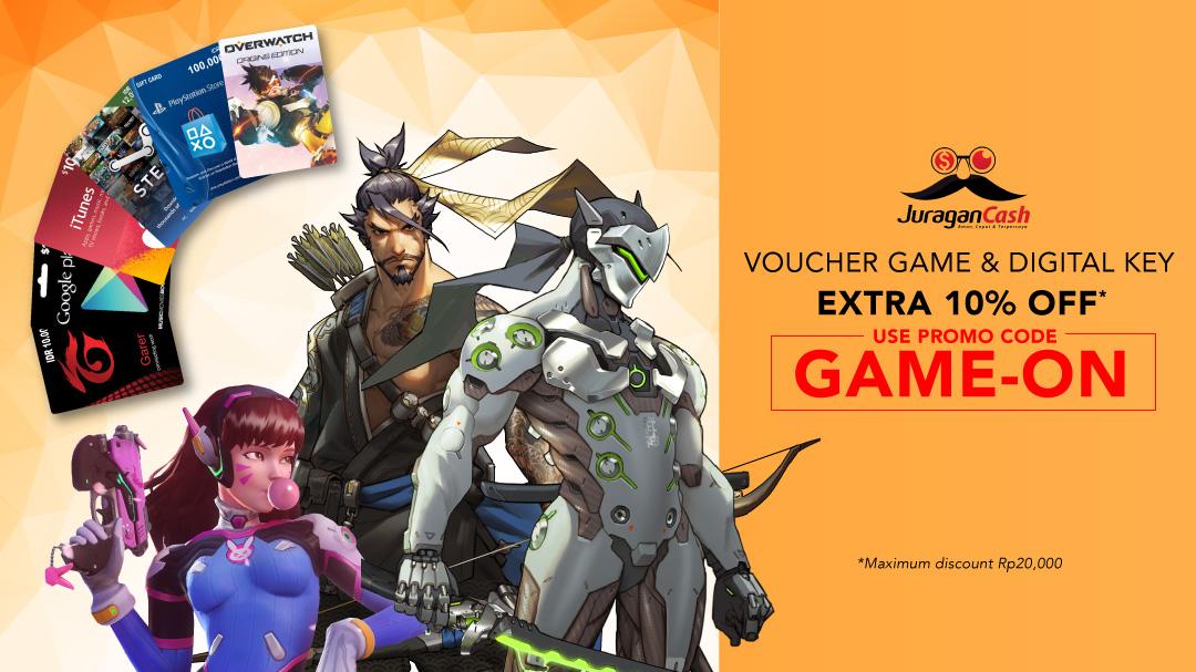 Juragan Cash Voucher Game Sale