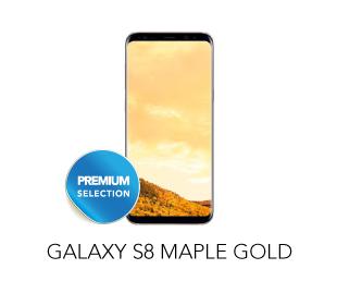 Galaxy S8 Maple Gold