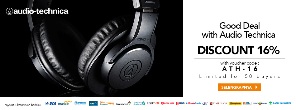 Good Deal with Audio Technica