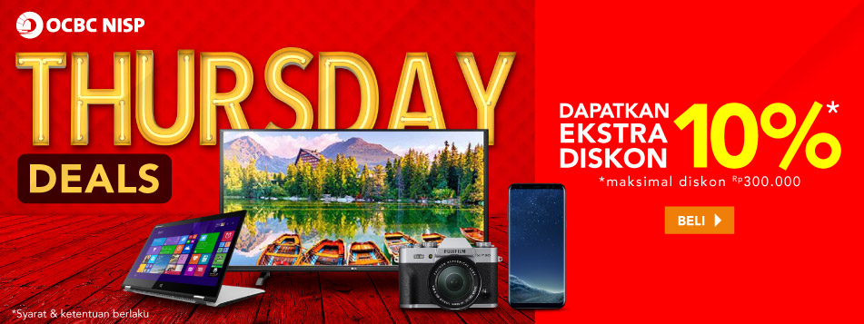OCBC Thursday Deals