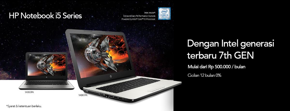 HP Notebook Core i5