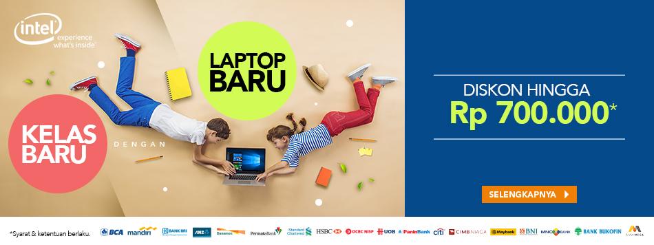 Kelas Baru dengan Laptop Baru