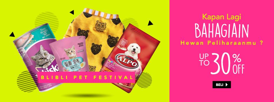 Blibli Pet Festival