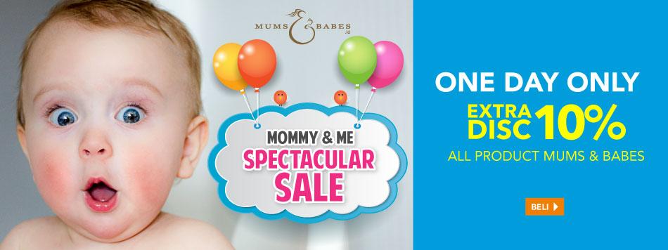 Mums and Babes Spectacular Sale 27 Juli
