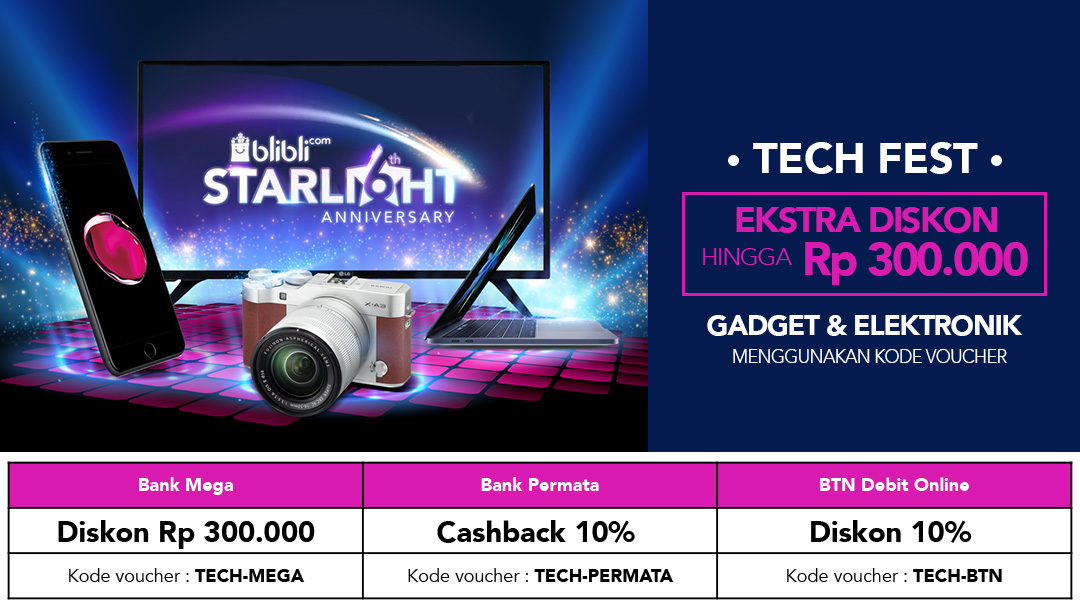 Tech Fest Bank Starlight