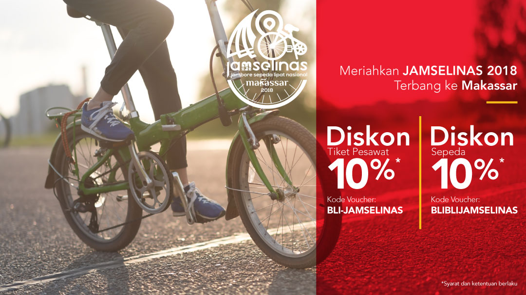 Terbang ke Makassar Diskon 10%