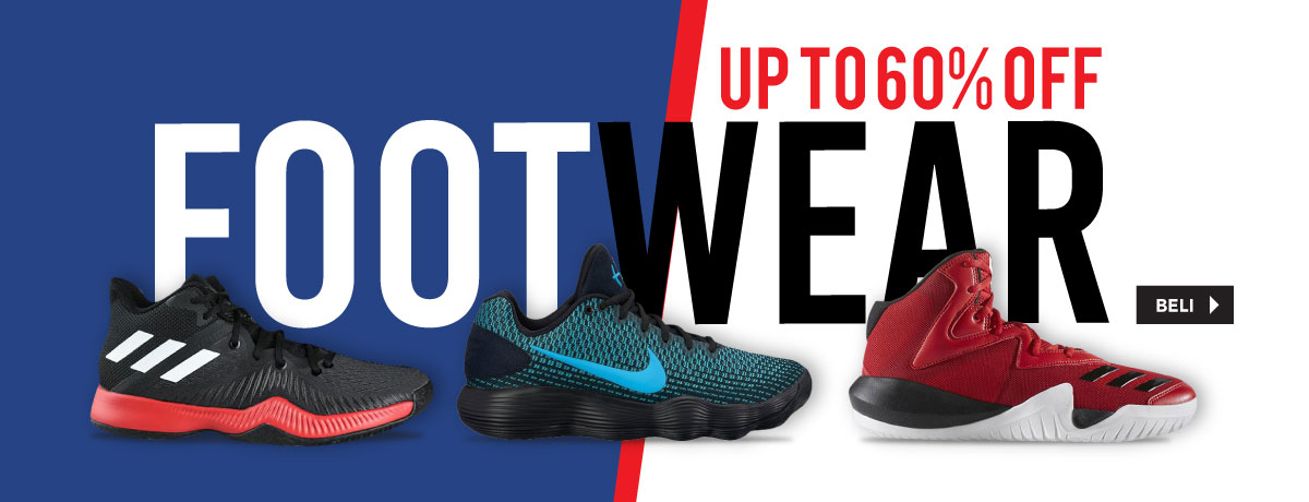 Footwear Up To 60%