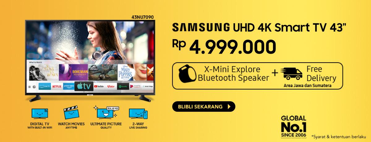 Samsung UHD 4K 43 inch