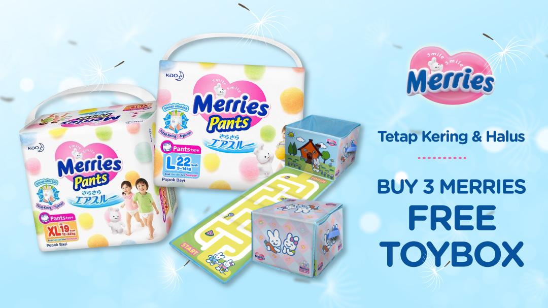 Merries Free Toy Box