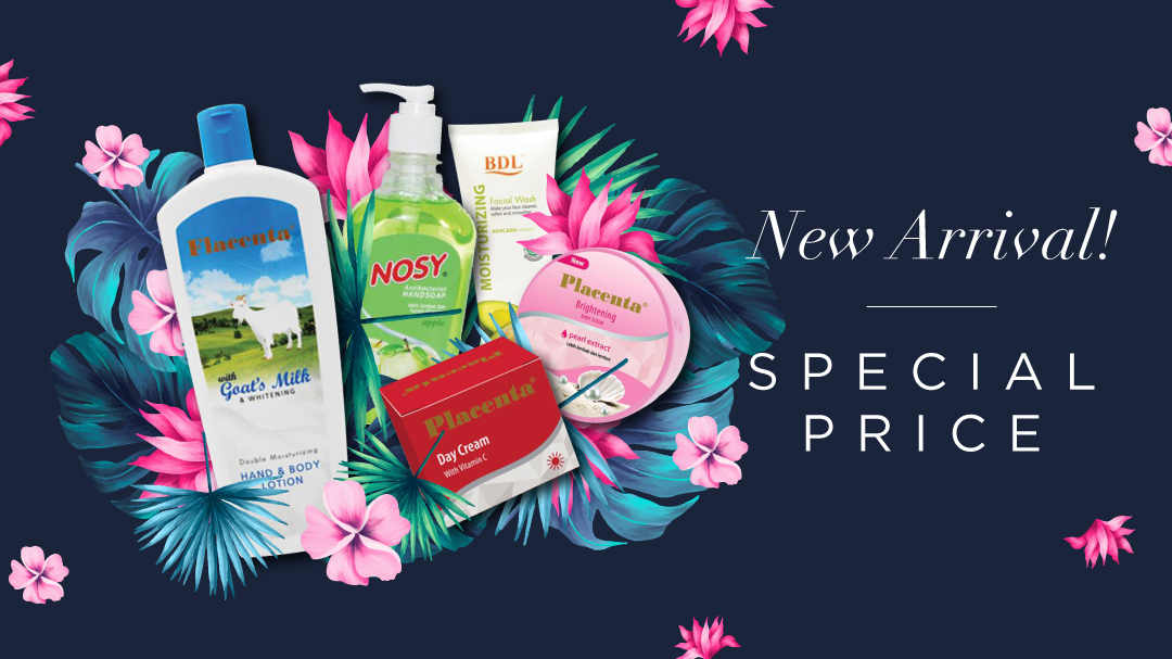 New Arrival! Placenta, Nosy, BDL Personal Care