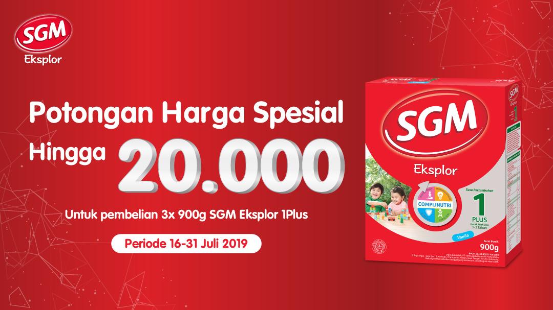 SGM Hemat Hingga Rp20.000