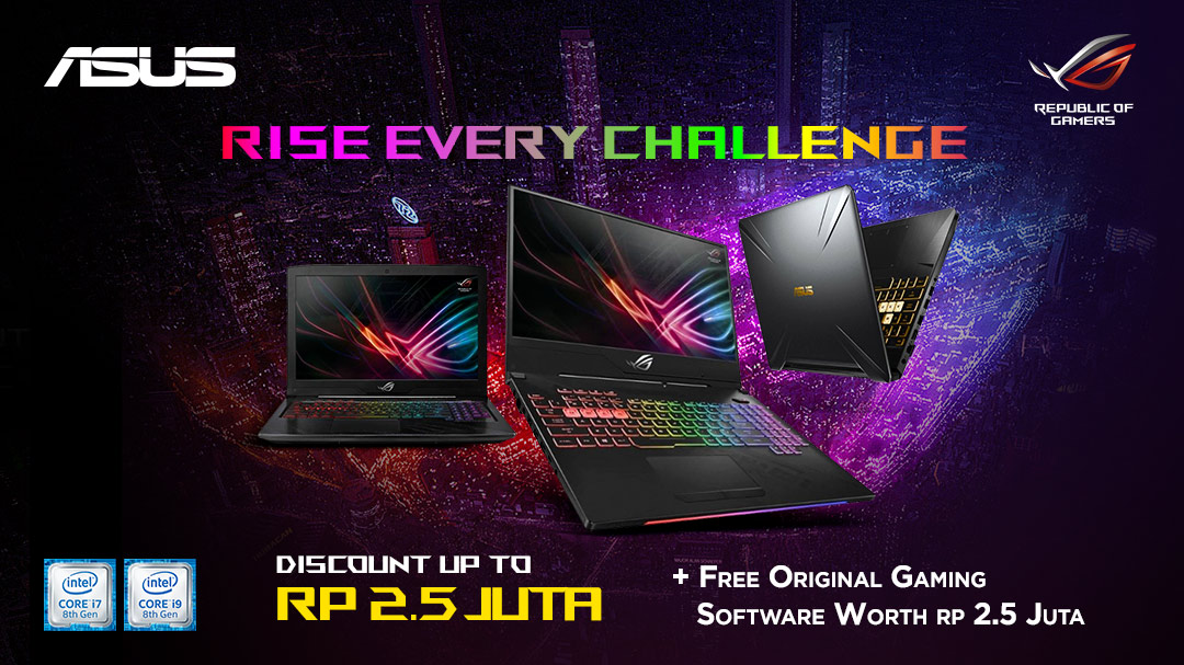 Asus Rise Every Challenge