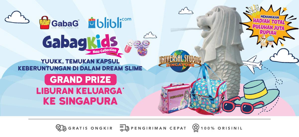 Gabag Kids - Berhadiah Jutaan Rupiah & Liburan ke Singapura