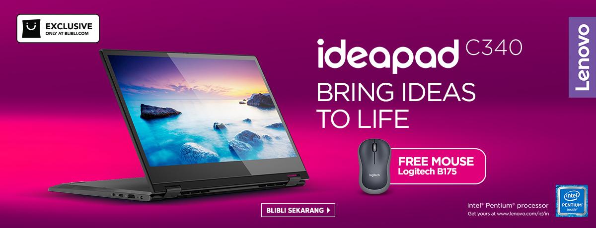 Exclusive Launch Lenovo C340