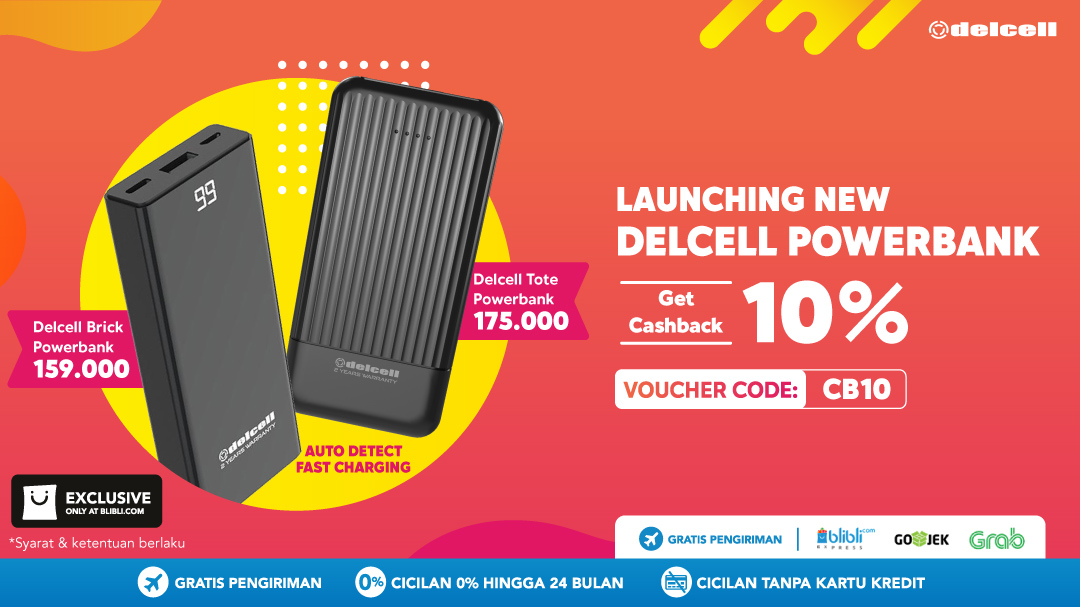 EXCLUSIVE! New Delcell Powerbank