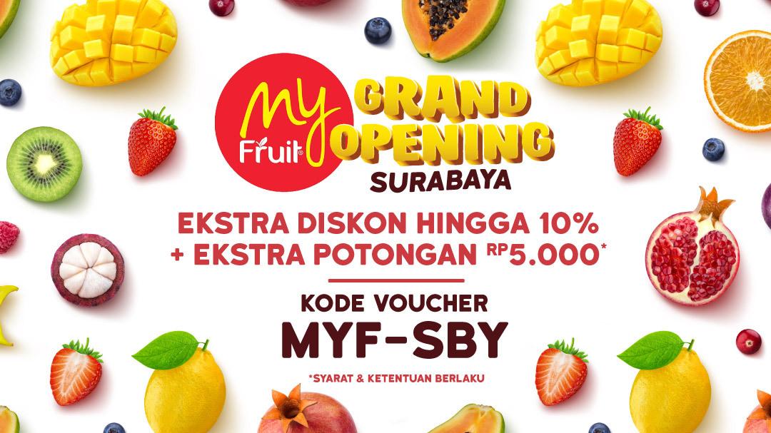 Grand Opening My Fruit Surabaya