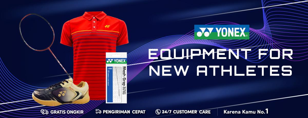 Yonex Equipment for New Athletes