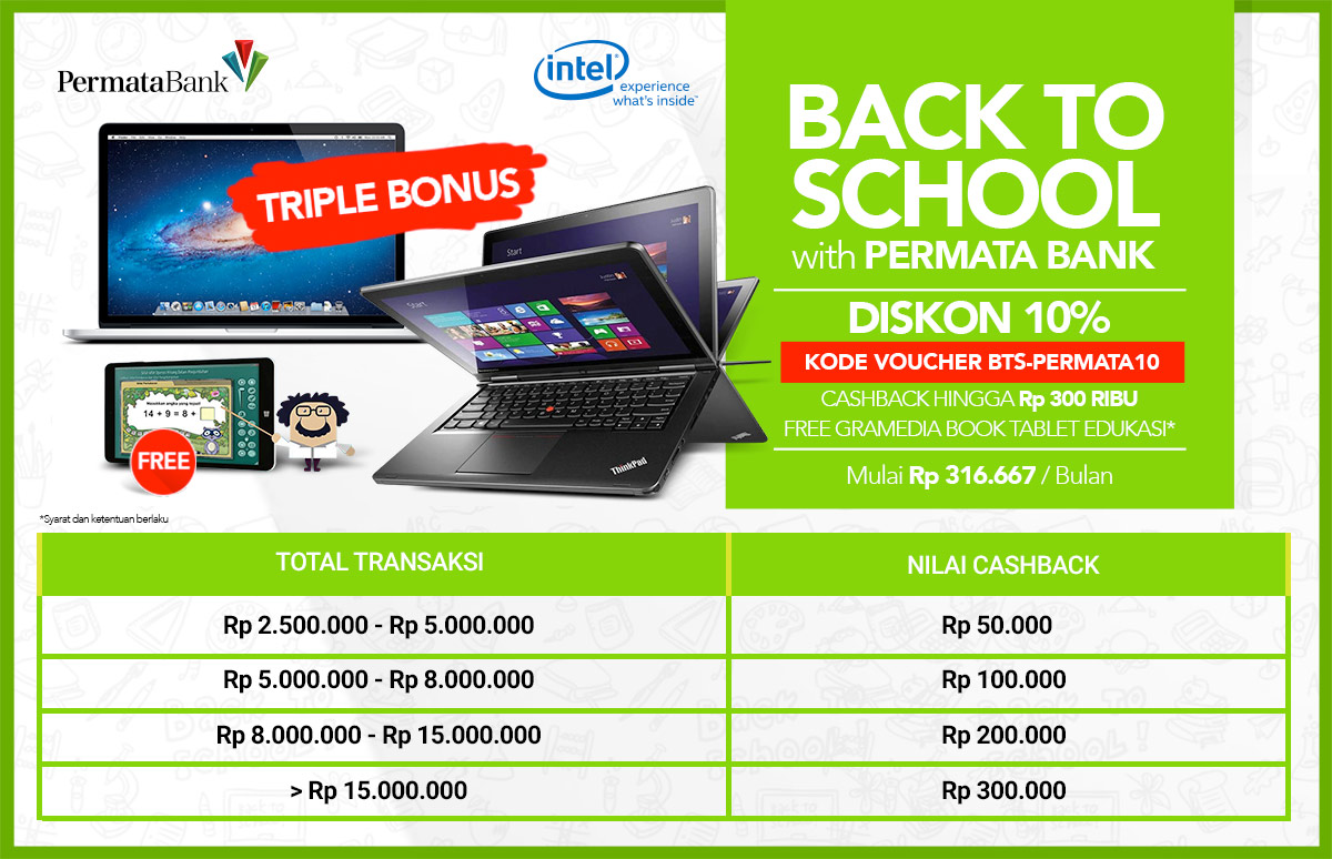 Back To School With Permata Bank Hp Pavilion X360 11 N045tu Silver