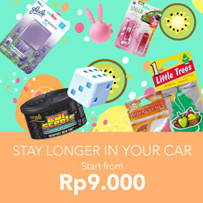 Stay Longer in Your Car Start From Rp9.000