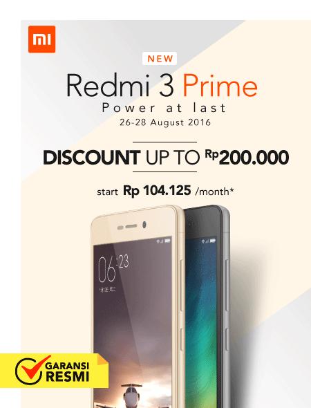 Xiaomi Redmi 3 Prime Launch