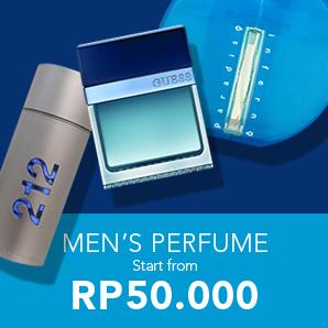 Men's Perfume Start From Rp50.000