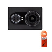 Xiaomi Yi International Edition Action Cam - Hitam + Free Sandisk Ultra 16 GB + Monopod