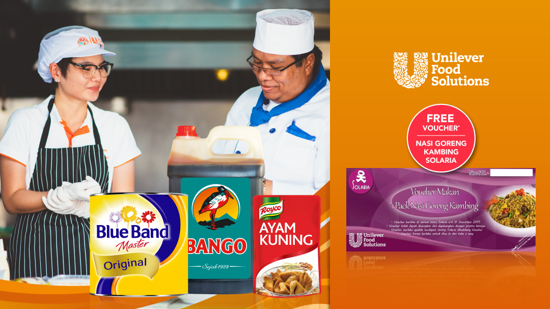 Beli Produk Unilever Food Solution, Gratis Voucher Solaria