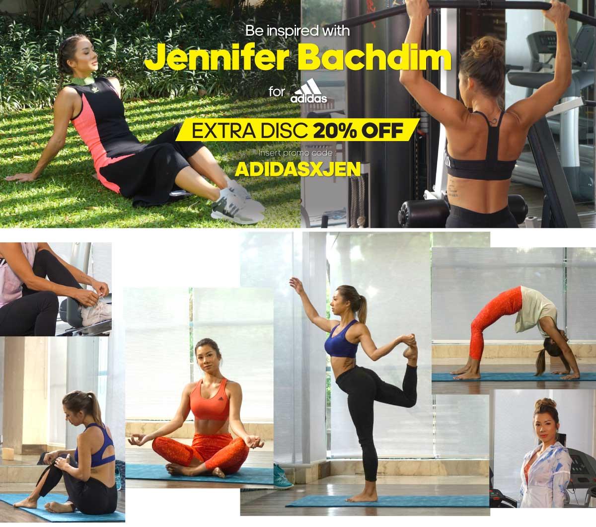 Adidas X Jennifer Bachdim Voucher Dwidayatour Senilai Rp 19000000 Tentang Promo