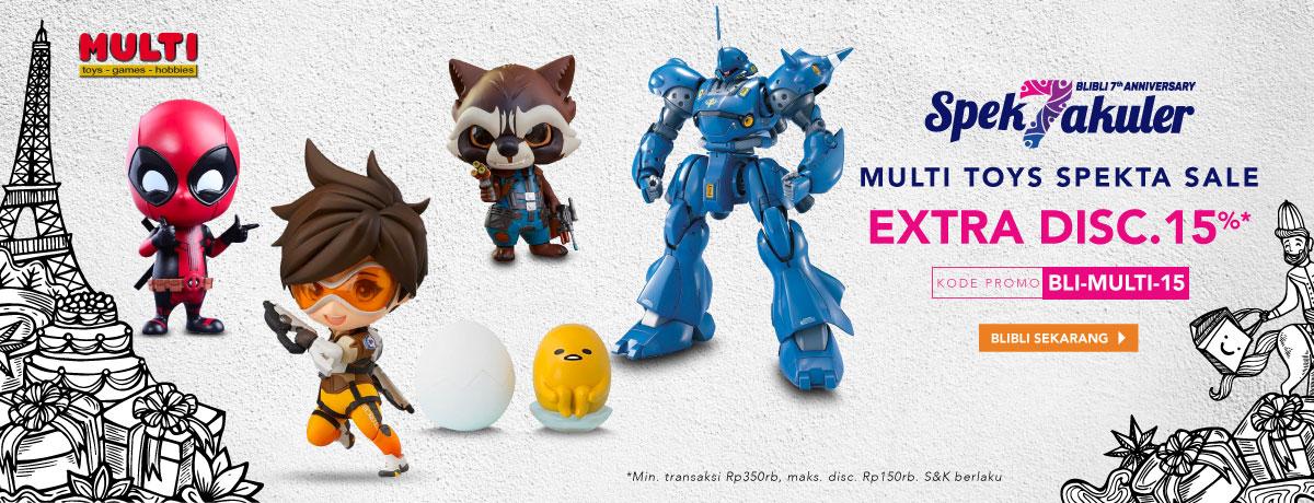 Multi Toys Disc. 15%
