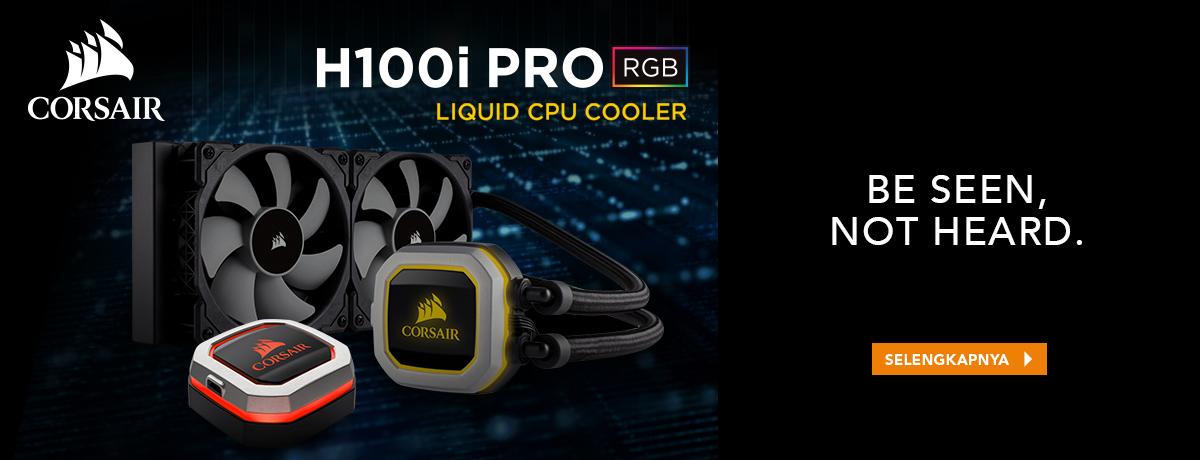 H100i Pro Liquid CPU Cooler