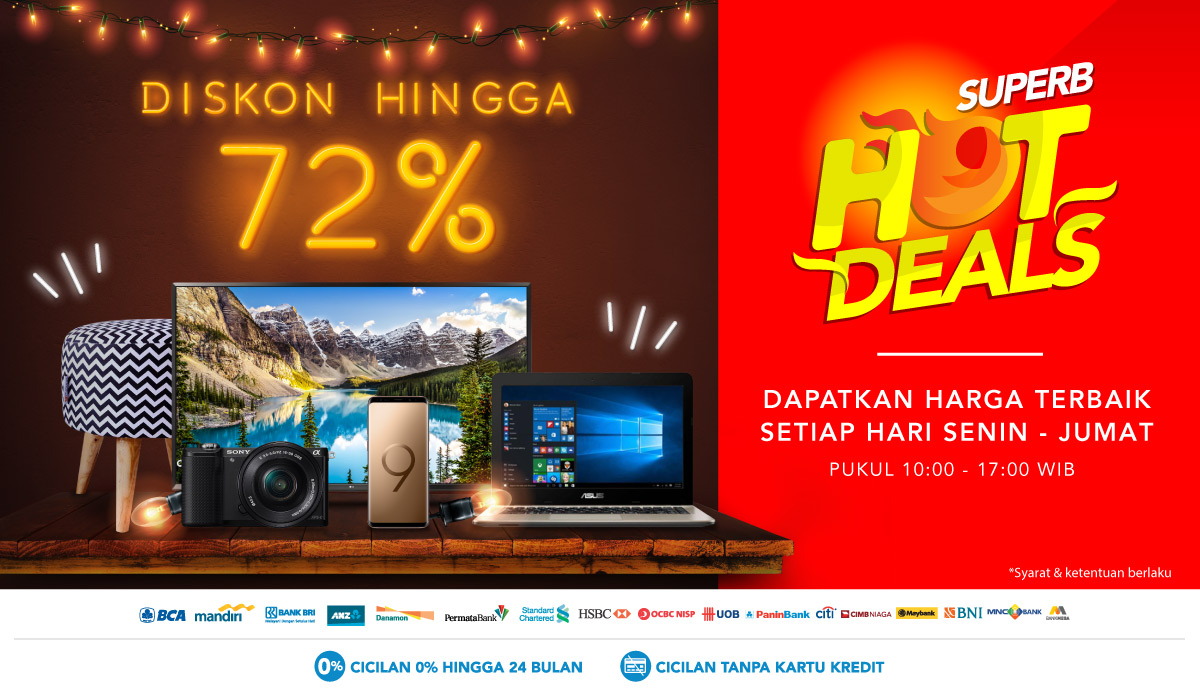 SUPERB HOT DEALS 2018 - Promo Produk Elektronik Termurah  7a8caa73d7