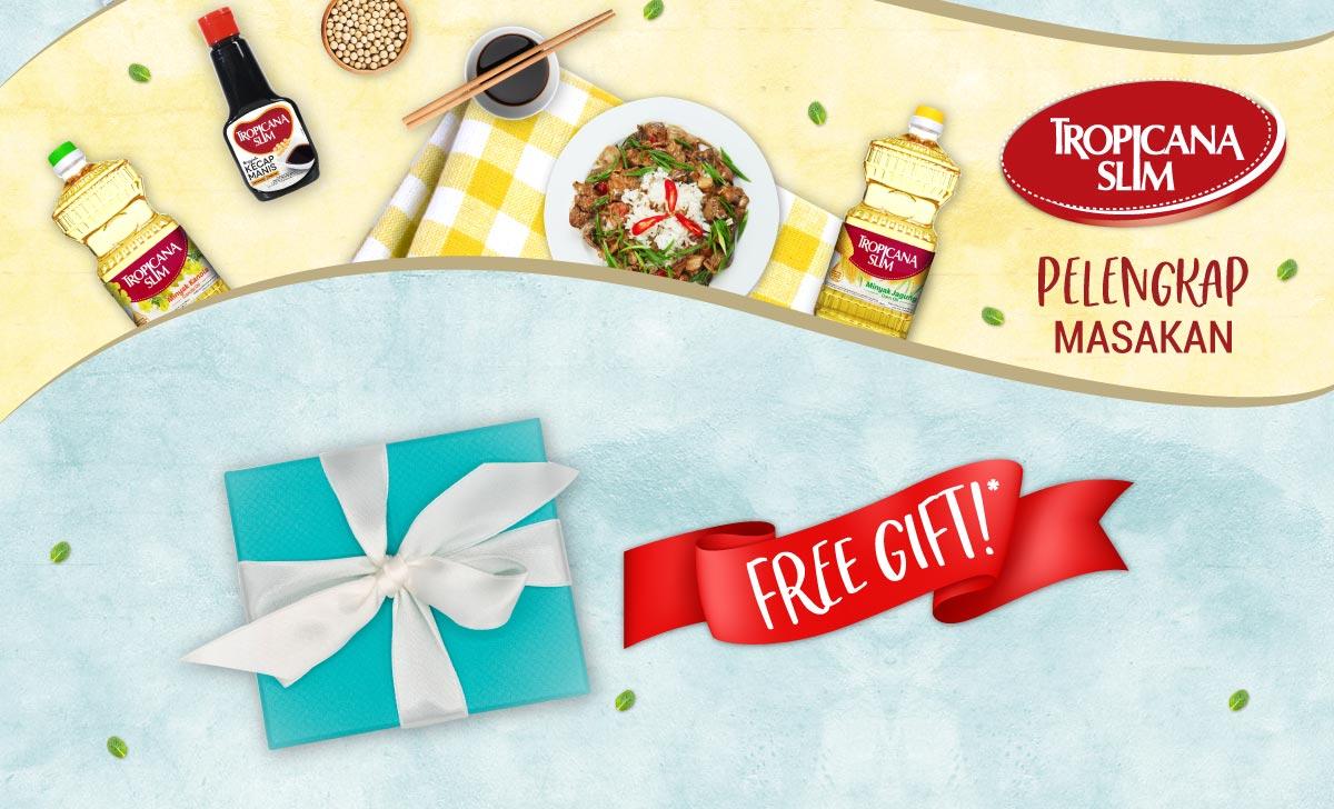 Tropicana Slim Free Gift Stevia Tentang Promo Syarat Ketentuan