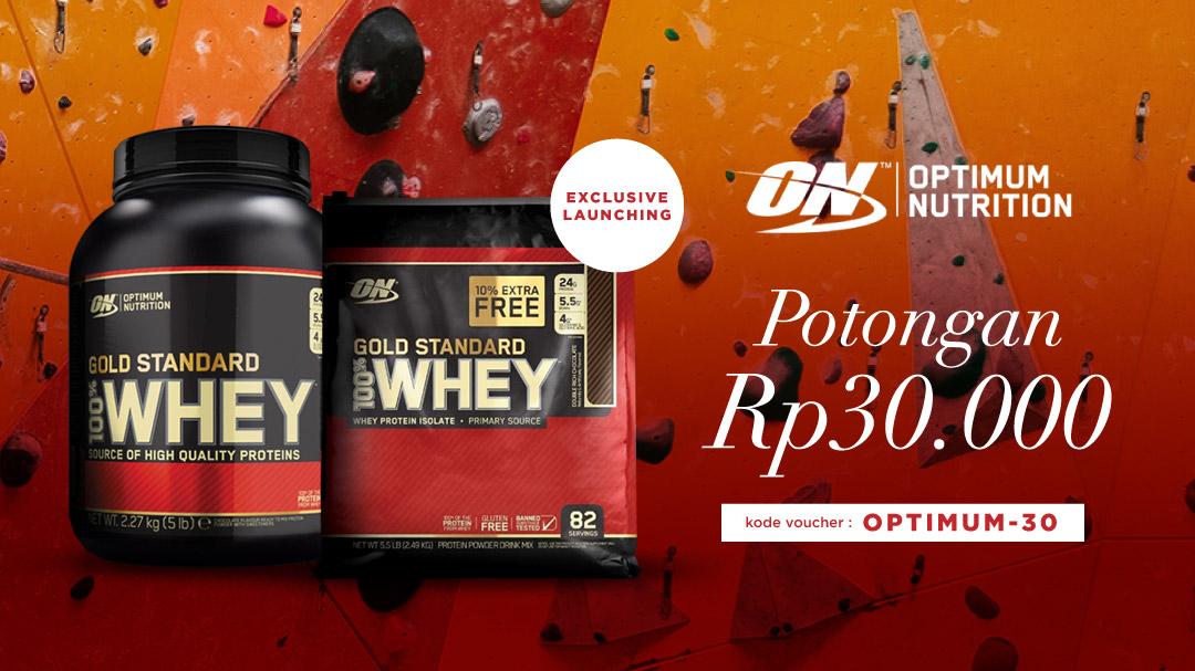 Optimum Nutrition Potongan Rp30.000