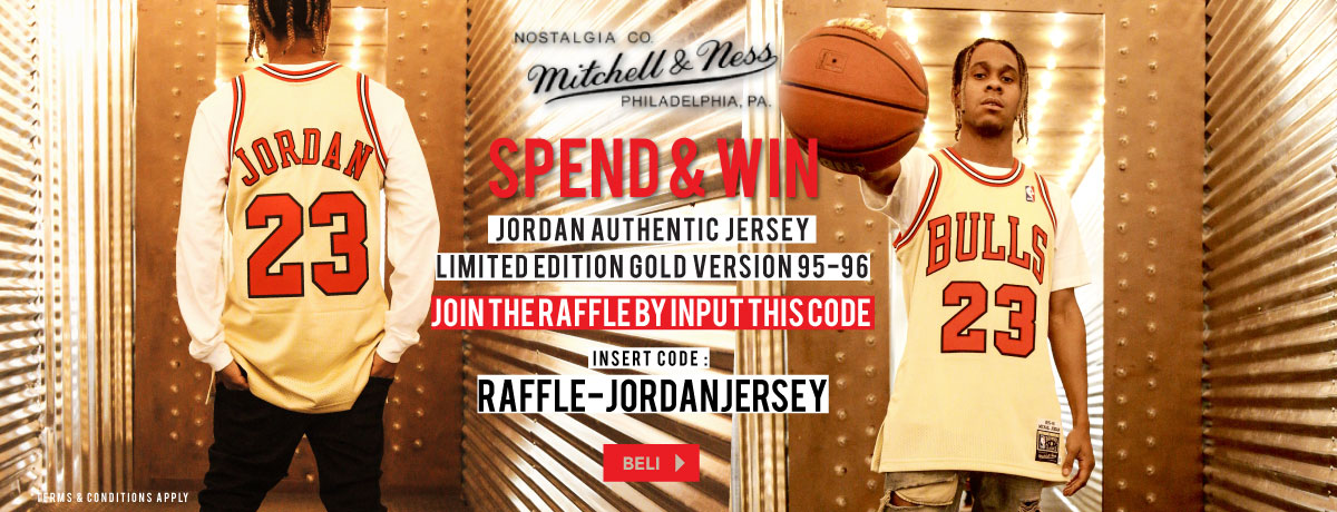 Get Your Authentic Jordan Jersey!