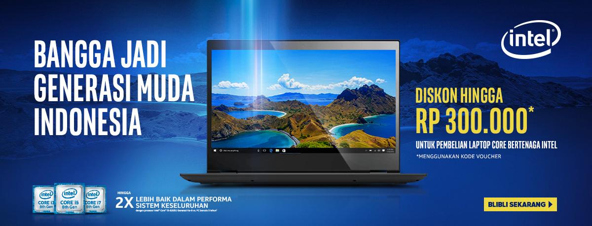 Laptop Core Intel Diskon Hingga Rp 300.000