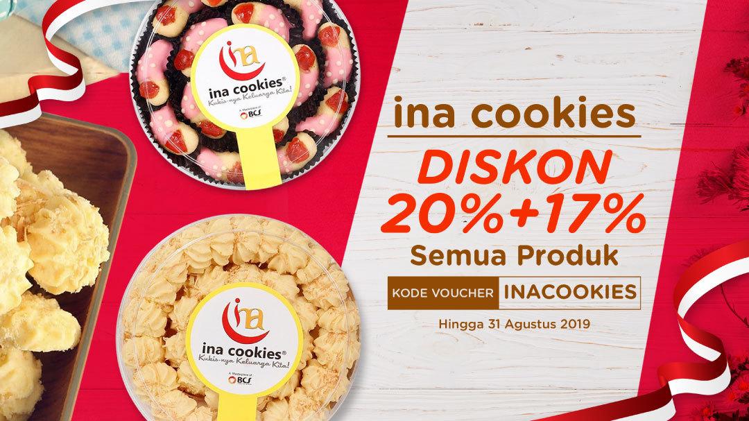 Ina Cookies : Aneka Kue Kering